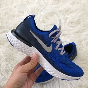 ✔️ New✔️ NIKEiD Epic React Flyknit ~ size 7